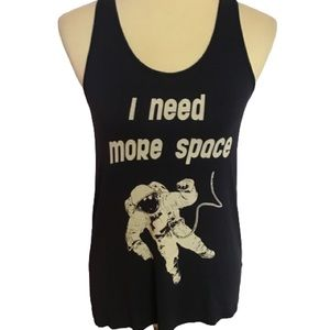 I need space graphic tank top